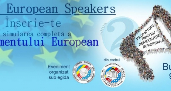 Simularea Parlamentului European - Young European Speakers