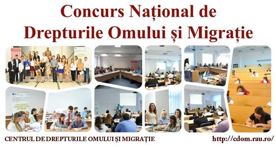 Concursul Național de Drepturile Omului și Migrație - Editia a III-a